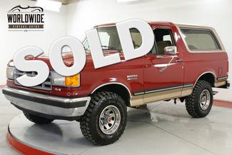 1988 Ford BRONCO  COLLECTOR GRADE 4x4 CONVERTIBLE 2 OWNER  | Denver, CO | Worldwide Vintage Autos in Denver CO