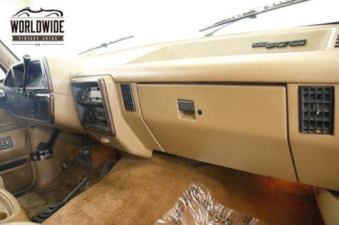 1988 Ford BRONCO  COLLECTOR GRADE 4x4 CONVERTIBLE 2 OWNER    Denver, CO   Worldwide Vintage Autos in Denver, CO