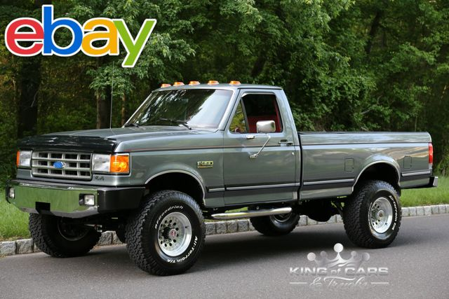 1988 Ford F350 Xlt Lariat 7.5L V8 15K ACTUAL MILES 2-OWNER 4X4 LIFTED GARAGE FIND