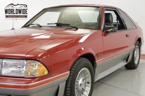 1988 Ford MUSTANG  GT 5.0L 5 SPEED 13K ORIGINAL MILES COLLECTOR   Denver, CO   Worldwide Vintage Autos in Denver, CO