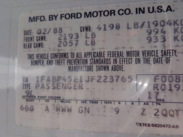 1988 Ford Mustang GT Hoosick Falls, New York 8