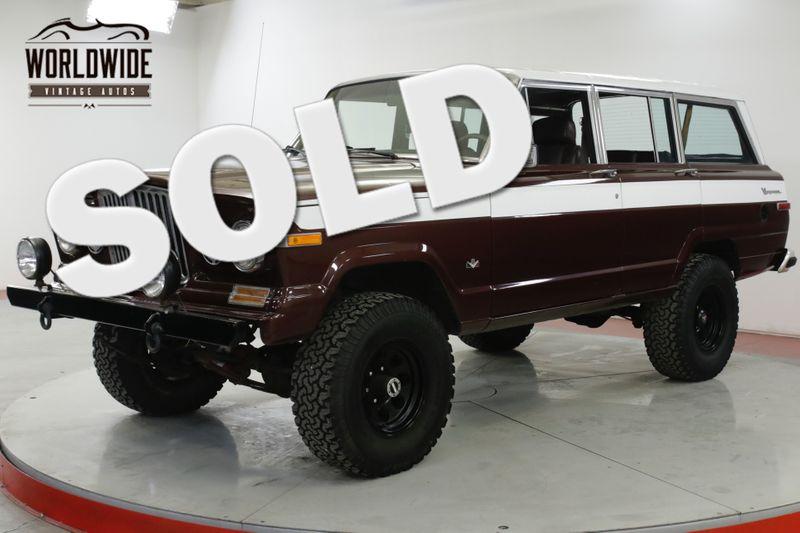 1988 Jeep GRAND WAGONEER CUSTOM 4x4 V8  | Denver, CO | Worldwide Vintage Autos