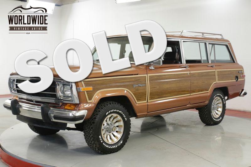 1988 Jeep GRAND WAGONEER 55K ORIGINAL MILES MUST SEE COLLECTOR GRADE | Denver, CO | Worldwide Vintage Autos