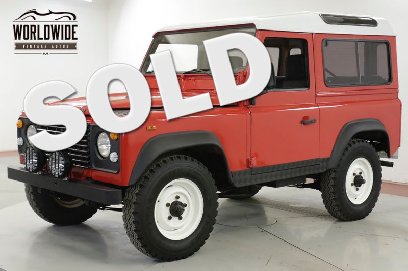 1988 Land Rover DEFENDER  SANTANA DIESEL 5 SPEED LHD DRY 4x4 LOW MILES | Denver, CO | Worldwide Vintage Autos