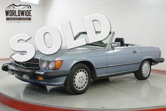 1988 Mercedes-Benz 560 SL CONVERTIBLE ALL ORIGINAL V8   Denver, CO   Worldwide Vintage Autos in Denver CO