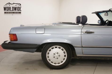 1988 Mercedes-Benz 560 SL CONVERTIBLE ALL ORIGINAL V8 | Denver, CO | Worldwide Vintage Autos in Denver, CO