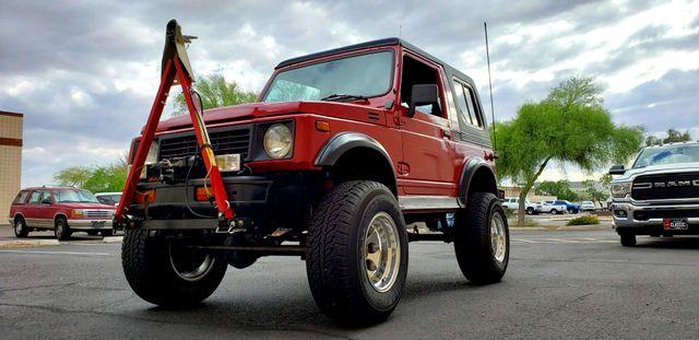 "1988 Suzuki Samurai JL 4X4 4"" LIFT REMOVABLE HARD TOP Phoenix, Arizona 11"