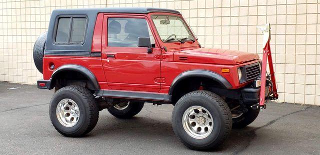 "1988 Suzuki Samurai JL 4X4 4"" LIFT REMOVABLE HARD TOP Phoenix, Arizona 0"