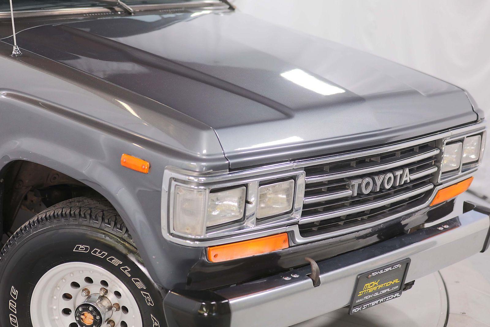 1988 Toyota Land Cruiser Fj62 Ac 1 Owner Ca Car City California