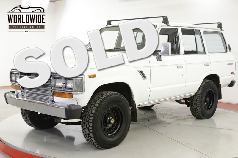 1988 Toyota LAND CRUISER  12V CUMMINS TURBO DIESEL 5SPD PRO BUILD  | Denver, CO | Worldwide Vintage Autos