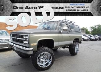 1989 Chevrolet Blazer 4x4 Lifted K5 Blazer Like Jimmy Bronco | Canton, Ohio | Ohio Auto Warehouse LLC in  Ohio