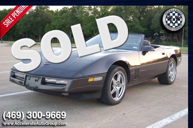 1989 Chevrolet Corvette LOW MILES, RARE COLOR in Rowlett Texas