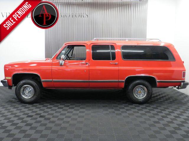 1989 Chevrolet Suburban PANEL DOORS 4X4 SUBURBAN 94K MILES in Statesville, NC 28677