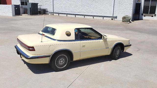 1989 Chrysler MASERATI TC TURBO  2 TOP ROADSTER Phoenix, Arizona 12