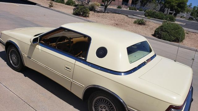 1989 Chrysler MASERATI TC TURBO  2 TOP ROADSTER Phoenix, Arizona 18