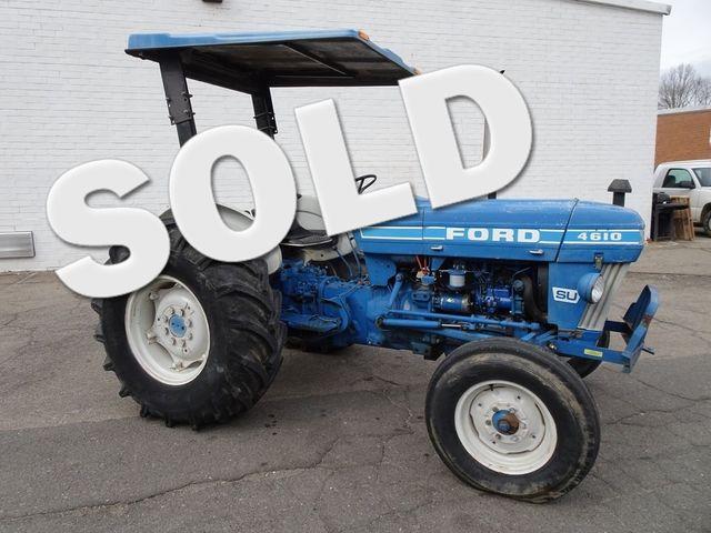 1989 Ford 4610SU Tractor Madison, NC