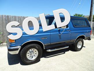 1989 Ford Bronco XLT Corpus Christi, Texas