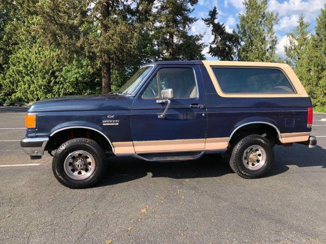 1989 Ford Bronco Eddie Bauer Edition
