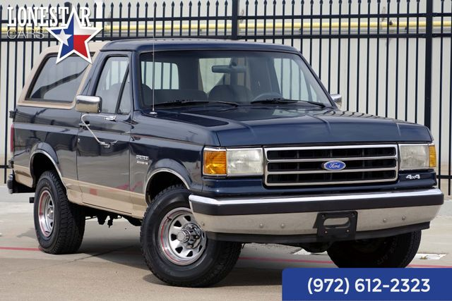 1989 Ford Bronco Eddie Bauer 4x4 Clean Carfax Original