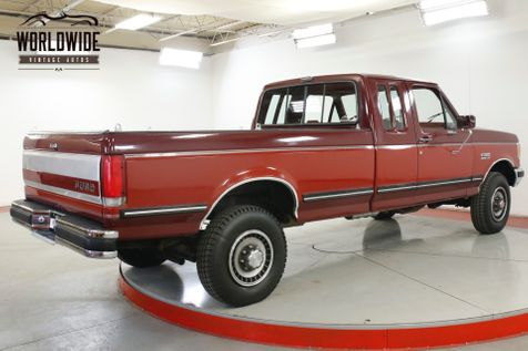 1989 Ford F250 1 OWNER 4x4 86K MILES TIME CAPSULE COLLECTOR | Denver, CO | Worldwide Vintage Autos in Denver, CO