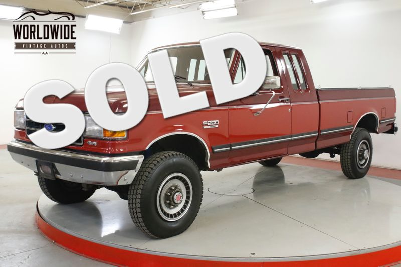 1989 Ford F250 1 OWNER 4x4 86K MILES TIME CAPSULE COLLECTOR | Denver, CO | Worldwide Vintage Autos