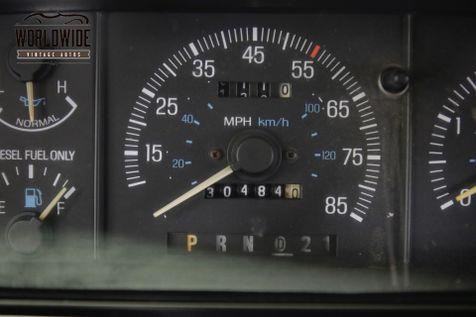 1989 Ford F350 CREW CAB XLT LARIAT 7.3L DIESEL PS PB LOW MILES | Denver, CO | Worldwide Vintage Autos in Denver, CO