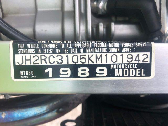 1989 Honda NT650 in Dania Beach , Florida 33004