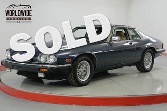 1989 Jaguar XJS LOW MILES V12 XJS SERVICED. COLLECTOR GRADE   Denver, CO   Worldwide Vintage Autos in Denver CO