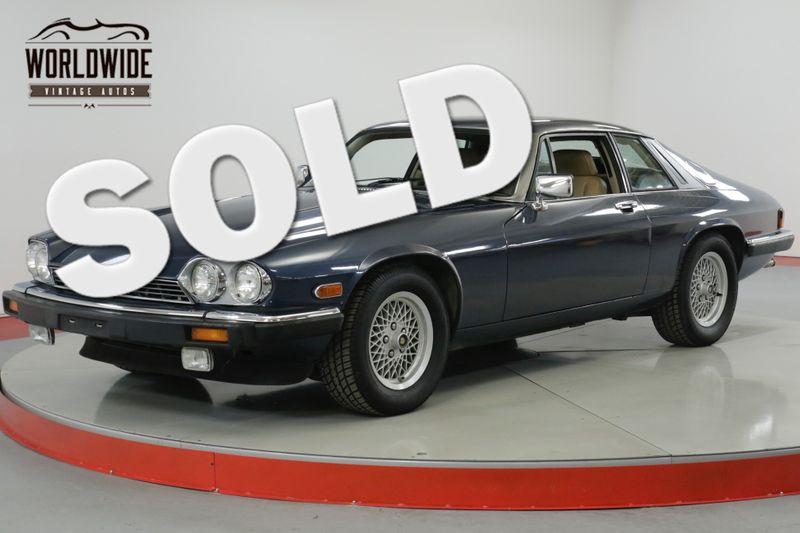 1989 Jaguar XJS LOW MILES V12 XJS SERVICED. COLLECTOR GRADE | Denver, CO | Worldwide Vintage Autos