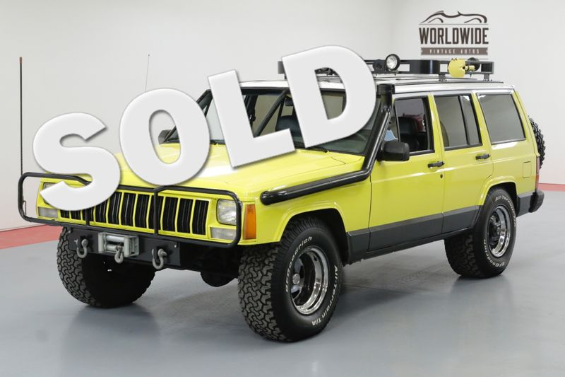 1989 Jeep CHEROKEE LIMITED , WIDE BODY CUSTOM | Denver, CO | Worldwide Vintage Autos