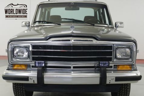 1989 Jeep GRAND WAGONEER 1 OWNER EXTREMELY LOW MI 67K RARE ROOF RACK | Denver, CO | Worldwide Vintage Autos in Denver, CO