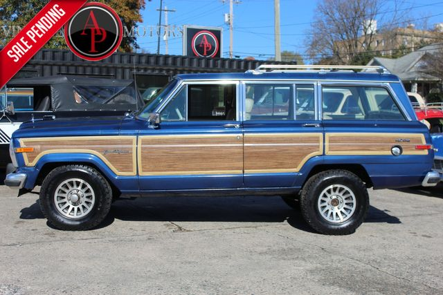 "1989 Jeep Grand Wagoneer 118K MILES ""WOODY"" 4X4"