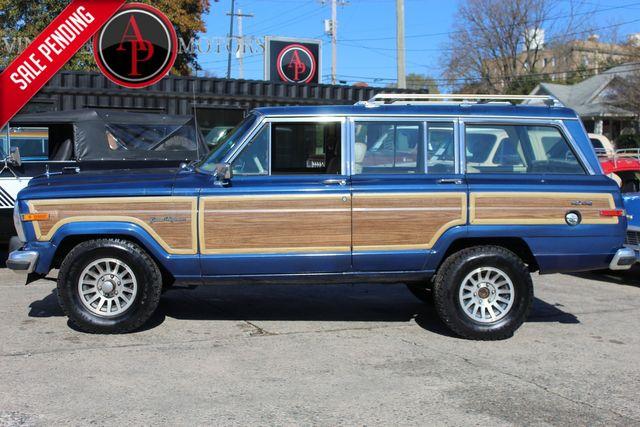 "1989 Jeep Grand Wagoneer 118K MILES ""WOODY"" 4X4"