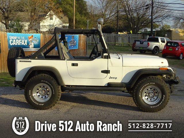"""1989 Jeep Wrangler """"S"""" in Austin, TX 78745"""