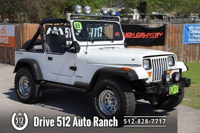 """1989 Jeep Wrangler """"S"""""""