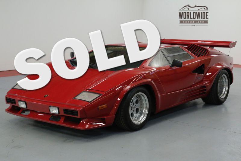 1989 Lamborghini COUNTACH HIGH DOLLAR BUILD. V8! $450K LOOK!  RARE | Denver, CO | Worldwide Vintage Autos