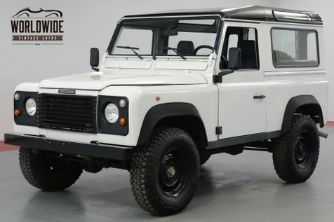 1989 Land Rover DEFENDER 90  300 TDI TURBO DIESEL! 5 SPEED FRAME UP RESTORED | Denver, CO | Worldwide Vintage Autos in Denver, CO