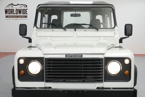 1989 Land Rover DEFENDER 90  300 TDI TURBO DIESEL! 5 SPEED FRAME UP RESTORED   Denver, CO   Worldwide Vintage Autos in Denver, CO