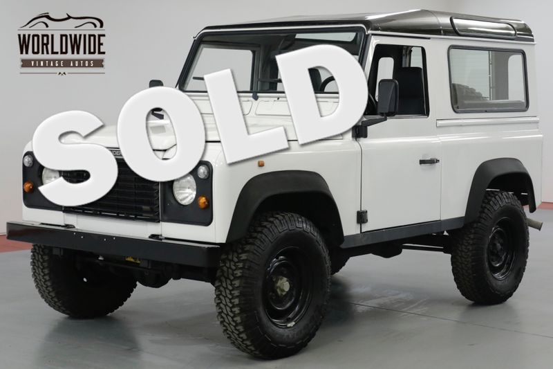 1989 Land Rover DEFENDER 90  300 TDI TURBO DIESEL! 5 SPEED FRAME UP RESTORED | Denver, CO | Worldwide Vintage Autos