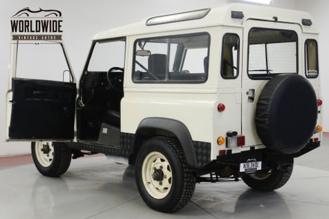 1989 Land Rover DEFENDER SANTANA DIESEL 5 SPEED LHD DRY 4x4 LOW MILES | Denver, CO | Worldwide Vintage Autos in Denver, CO