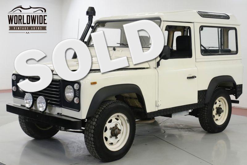 1989 Land Rover DEFENDER SANTANA DIESEL 5 SPEED LHD DRY 4x4 LOW MILES | Denver, CO | Worldwide Vintage Autos