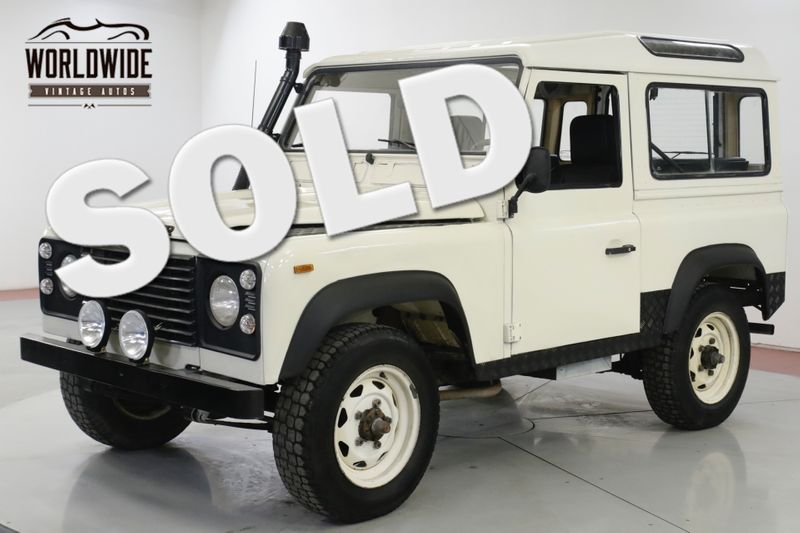 1989 Land Rover DEFENDER SANTANA DIESEL 5 SPEED LHD DRY 4x4 LOW MILES | Denver, CO | Worldwide Vintage Autos
