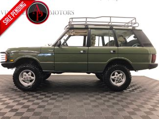 1989 Land Rover Range Rover CLASSIC. BUILT in Statesville, NC 28677