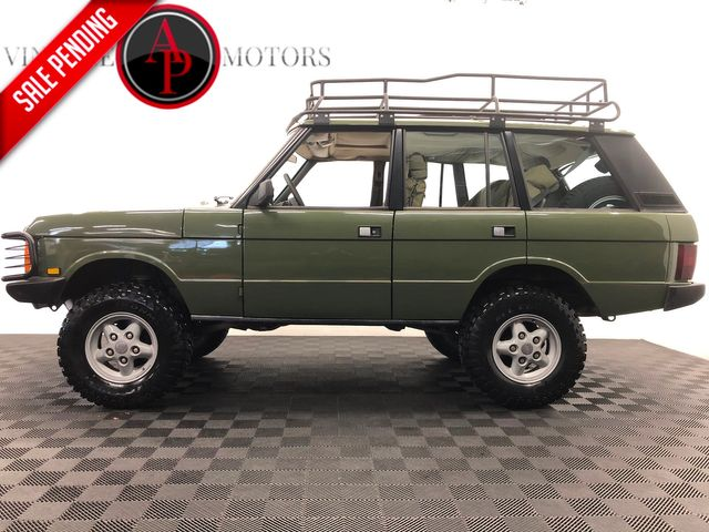 1989 Land Rover Range Rover CLASSIC. BUILT