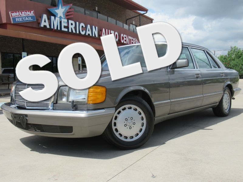 1989 Mercedes-Benz 420 Series 420SEL | Houston, TX | American Auto Centers in Houston TX