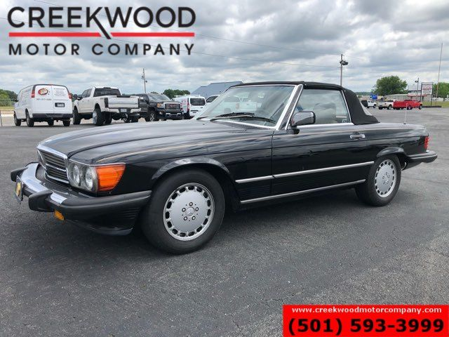1989 Mercedes-Benz 560 Series 560SL Convertible Hardtop Low Miles Automatic NICE