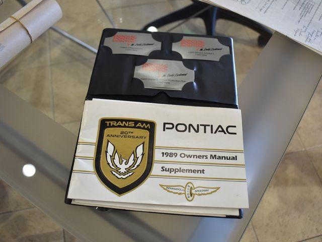 1989 Pontiac Firebird Trans Am TTA in McKinney, Texas 75070