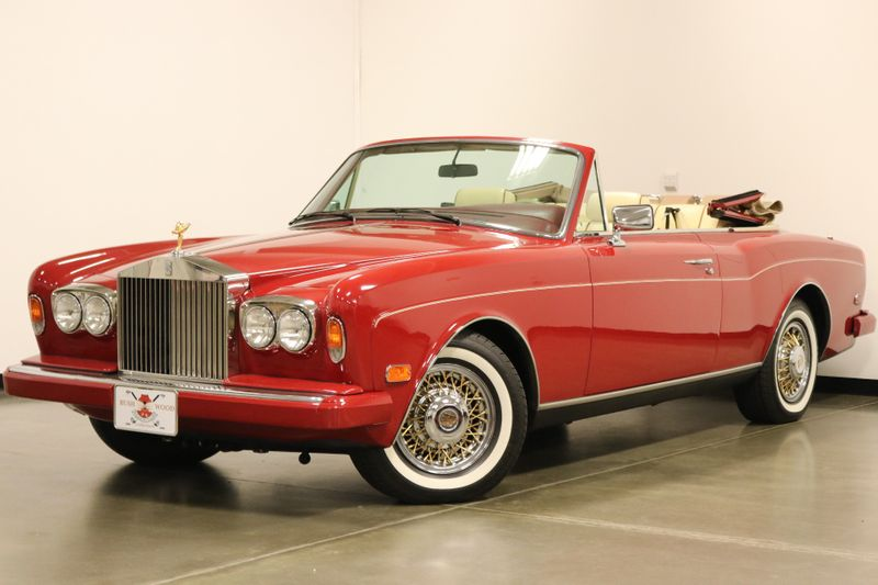 1989 Rolls-Royce Corniche II Drophead Coupe Unrestored Orignial Car  city NC  The Group NC  in Mansfield, NC