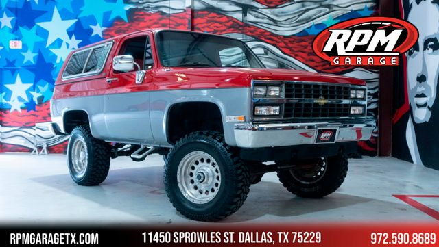 1990 Chevrolet Blazer Lifted with Upgrades