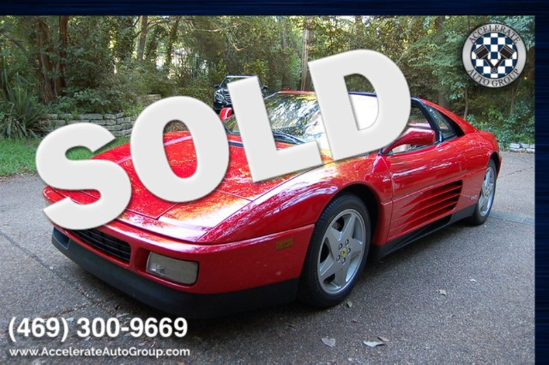 1990 Ferrari 348TS BEAUTIFUL, NO ISSUES, ONLY 28K MILES in Rowlett Texas